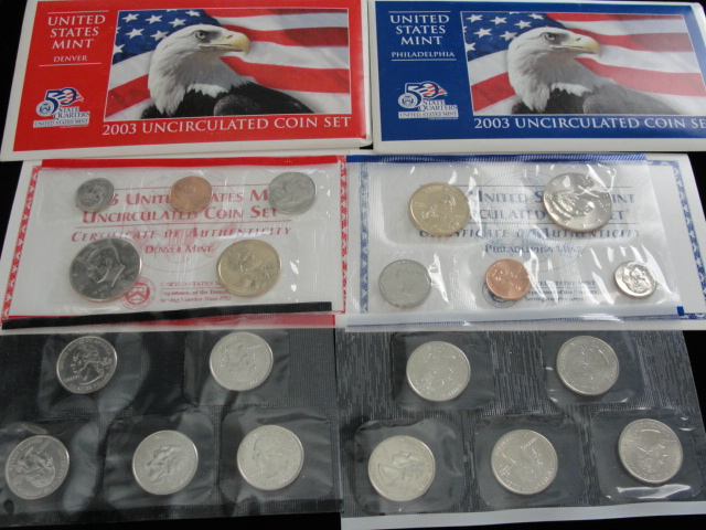 1982 US MINT P D Uncirclated SET IN ORIGINAL PACKAGING